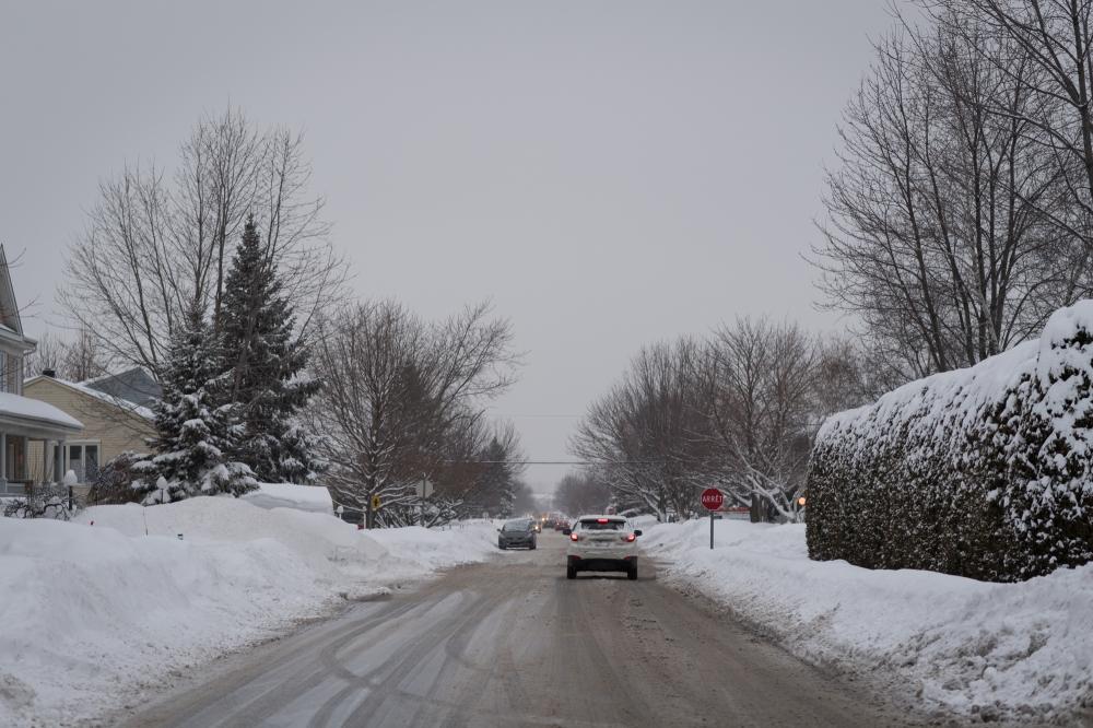 Stationnement dans les rues en période hivernale
